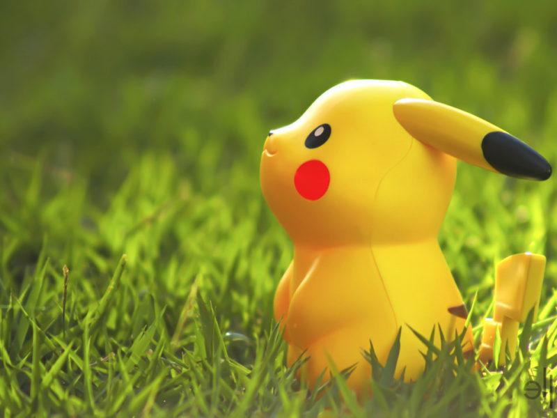 Free Wallpaper Pikachu Toy
