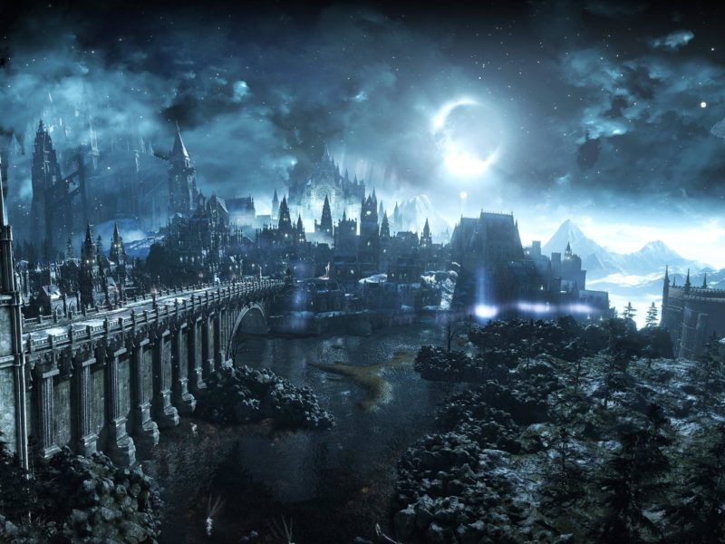 Irithyll Of The Boreal Valley Dark Souls Wallpaper