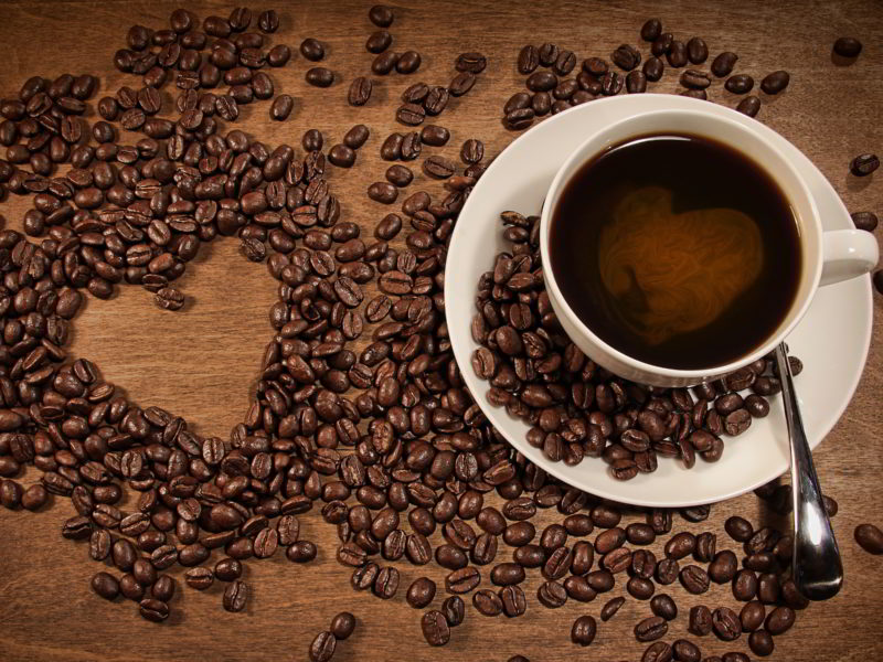 Coffee Cup Wallpaper Love Heart