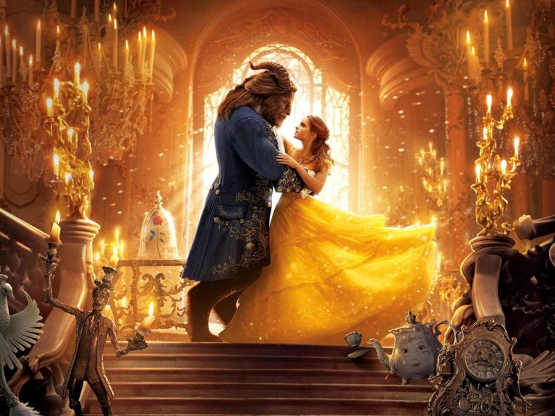 2017 Beauty And The Beast Dance Wallpaper