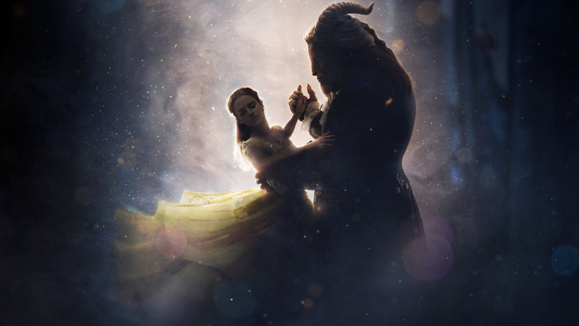 beauty and the beast 2017 silhouette wallpaper - download free hd