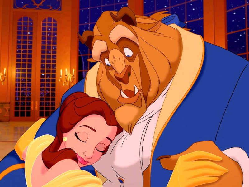 Beauty And The Beast Falling In Love