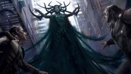 Hela Vs Thor And Loki Thor Ragnarok