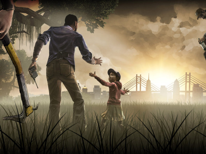 Walking Dead Lee And Clem