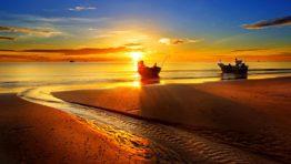 Sunset At Hua Hin Beach