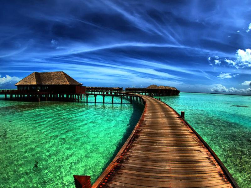 Sand Ocean Summer Sun Sky Wallpaper Hd
