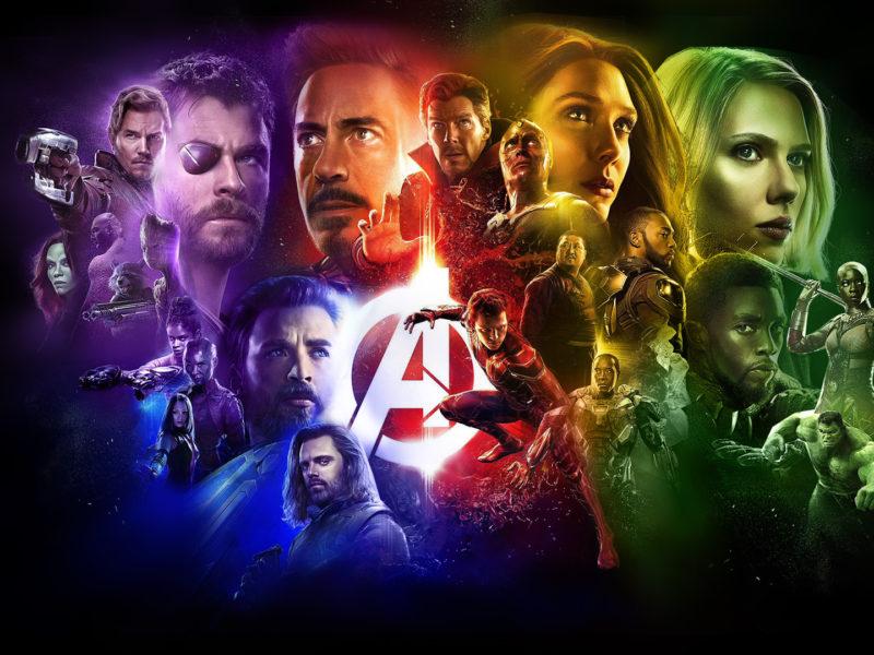 Avengers Infinity War Hero Characters Wallpaper Hd