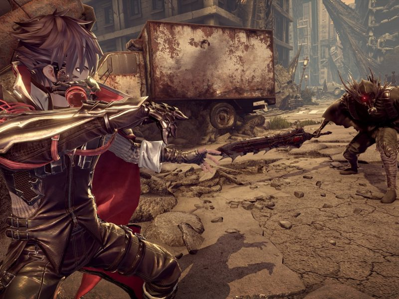Code Vein Fighting Wallpaper Hd