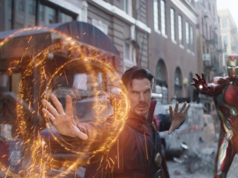 Dr Strange With Iron Man Wallpaper Hd