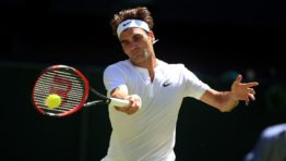 Roger Federer Winning Shot Wallpaper Hd