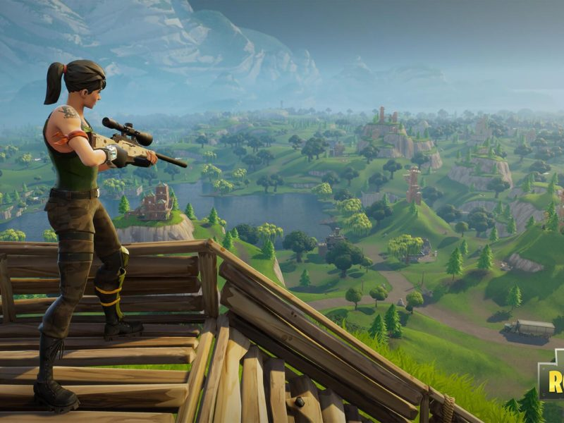 Fortnite Battle Royale Sniper Wallpaper Hd Pc Iphone Android