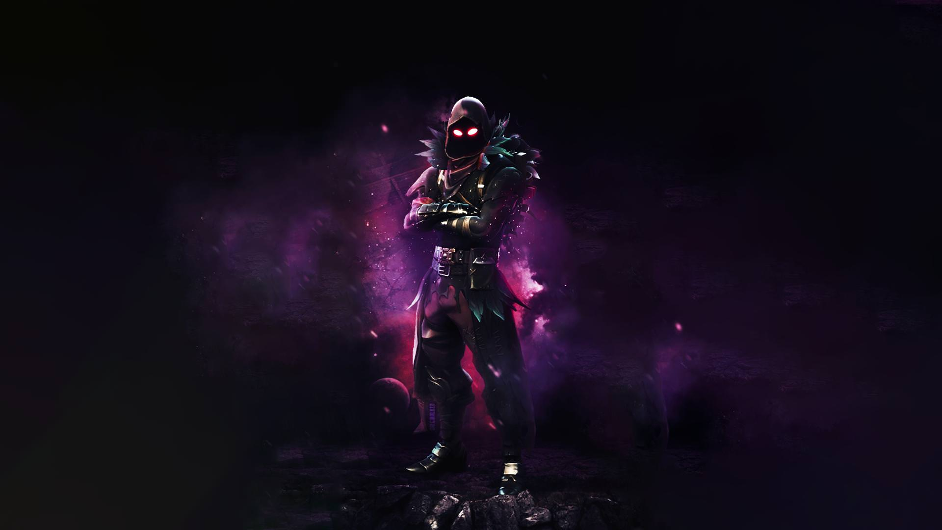 Fortnite Raven Wallpaper HD 4k PC Android IPhone