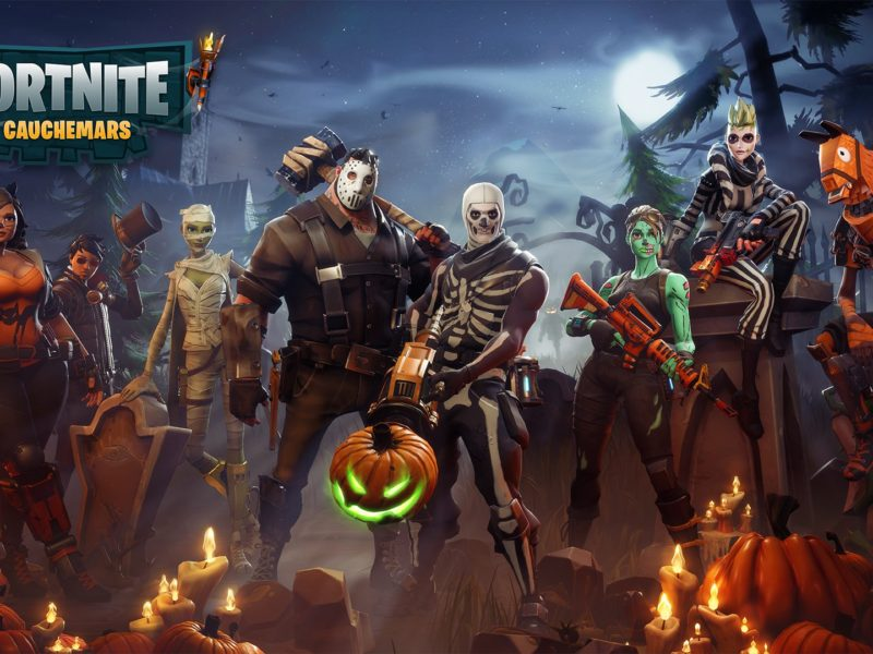 Fortnite Wallpaper Gauchemars Hd Iphone Android Desktop Download