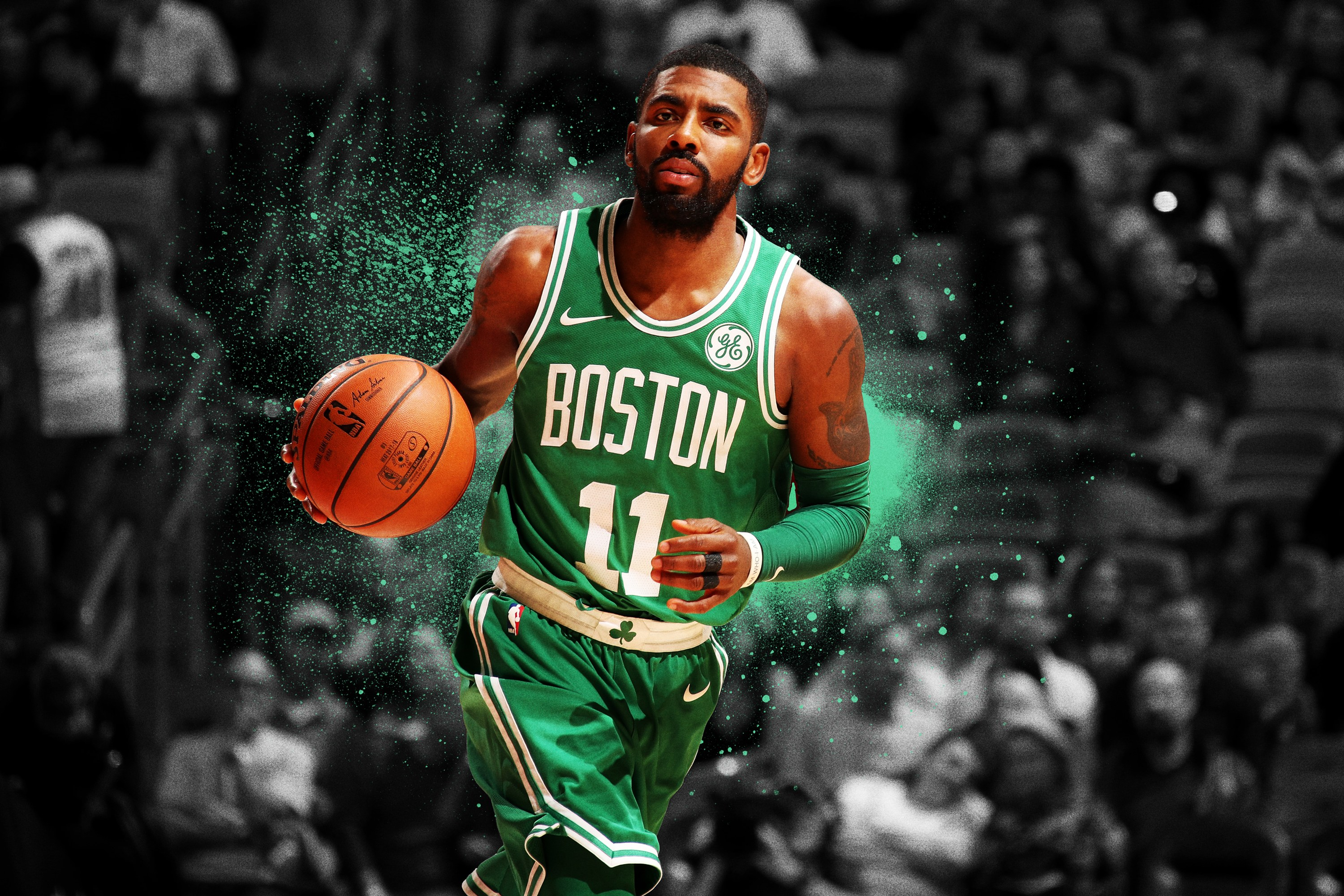 Kyrie Iriving Boston Wallpaper Hd Iphone Pc Android Download Free Hd Wallpapers
