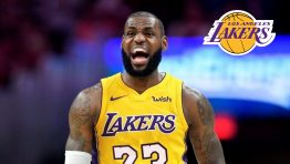 Angry Lebron James On Lakers 23 Jersey Hd Wallpaper Download
