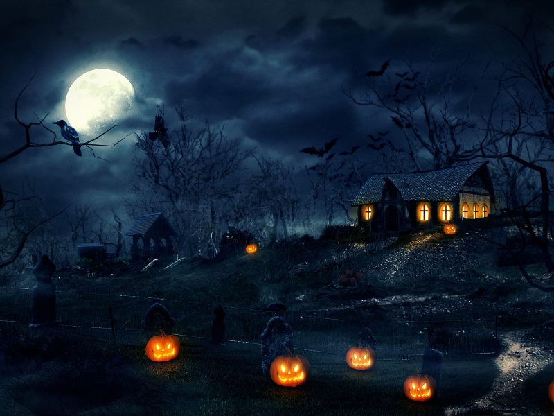 Halloween Background Iphone Xs Android Pc Mac Hd Wallpaper
