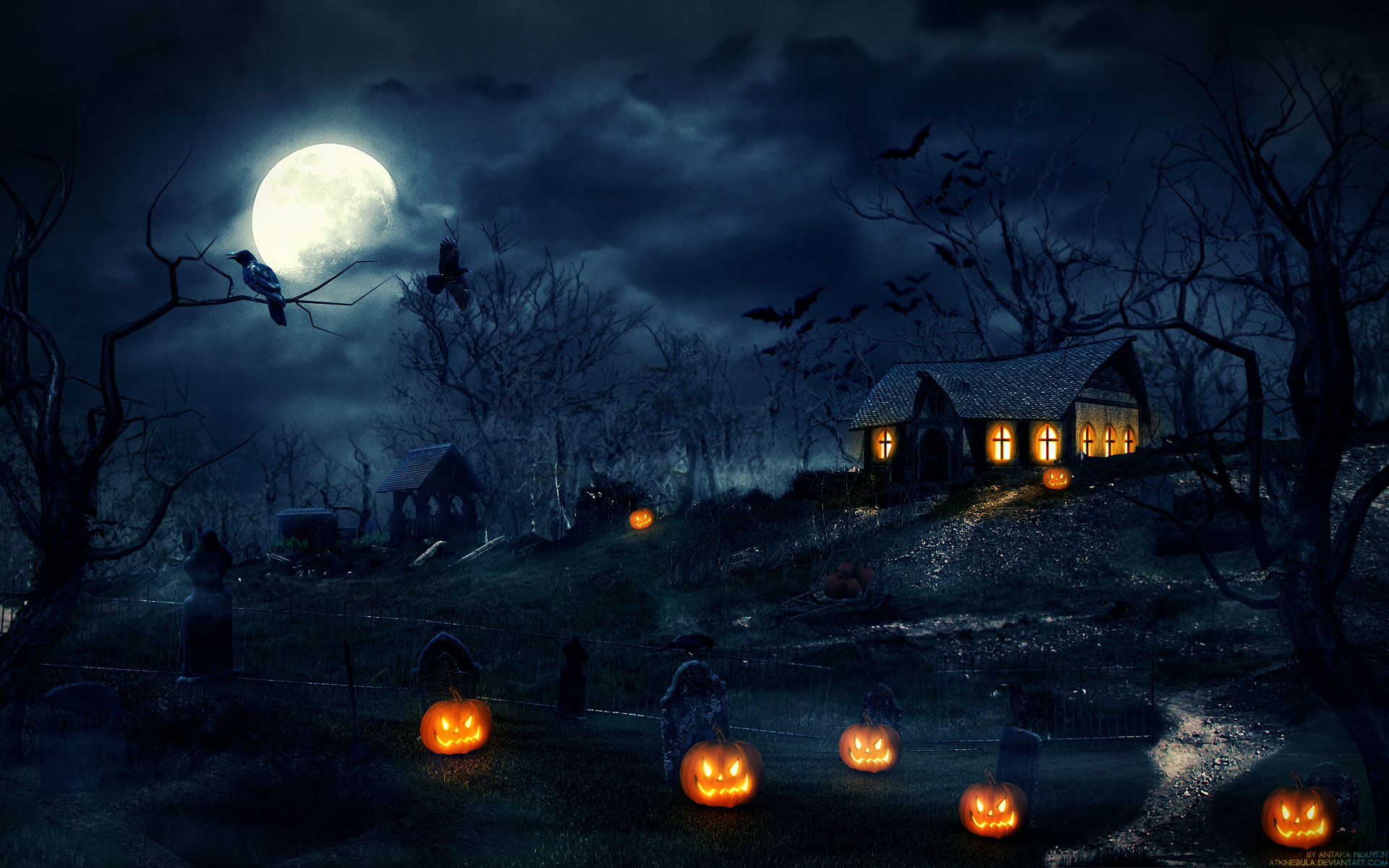 Halloween Background Iphone Xs Android Pc Mac Hd Wallpaper Download Free Hd Wallpapers