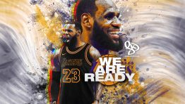Lebron Lakers Hd Wallpaper We Are Ready