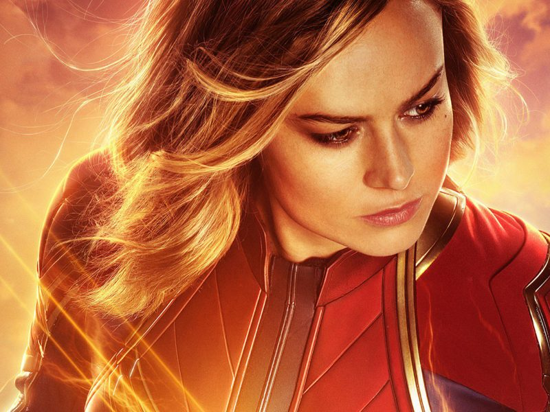 Brie Larson Captain Marvel Wallpaper Iphone Android Pc Desktop Any Size