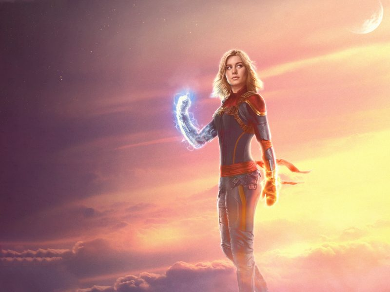 Captain Marvel Wallpaper Iphone Android Custom Size Download Free