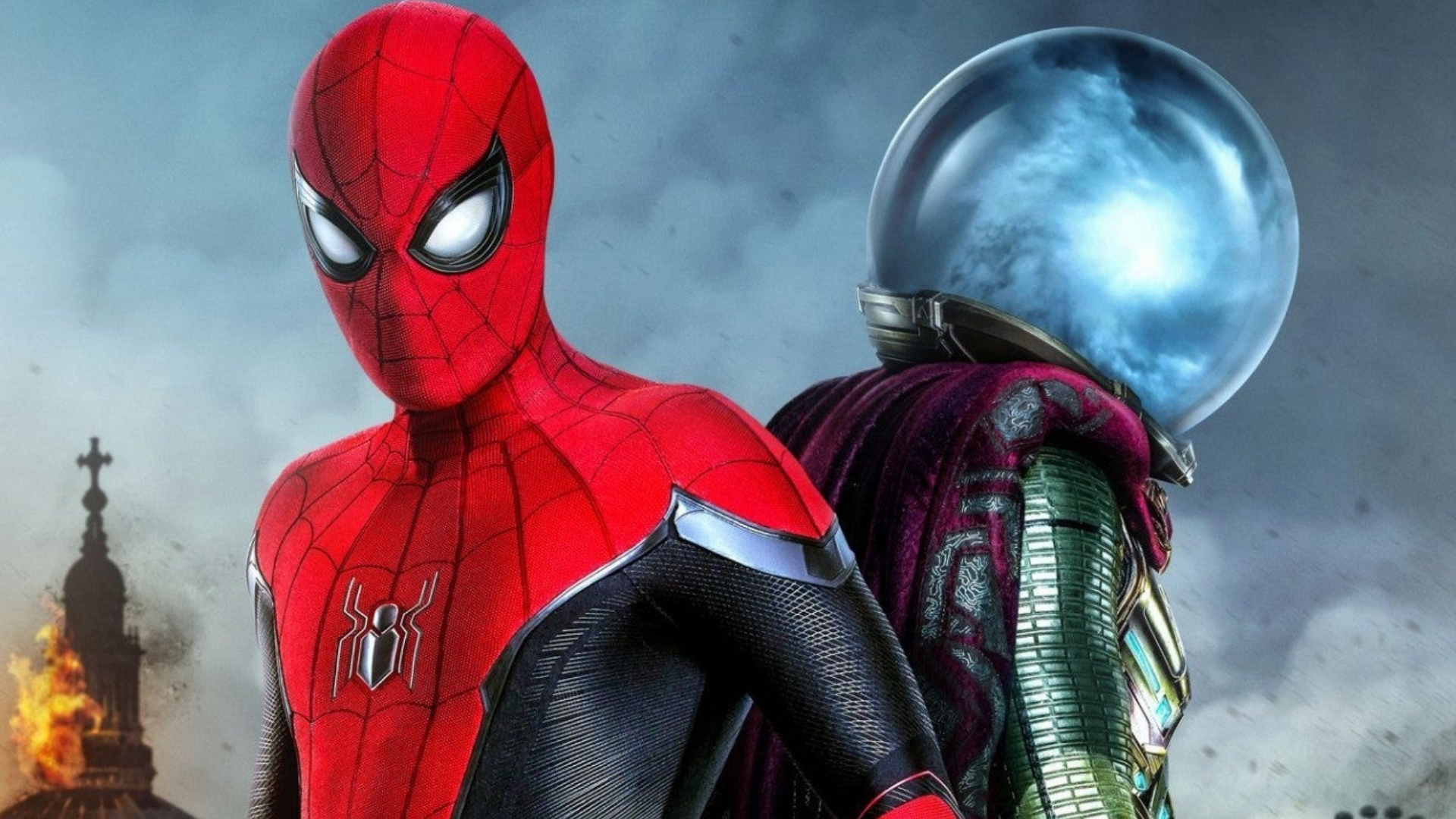 Spider Man And Mysterio Wallpaper Hd Download Free Hd Wallpapers