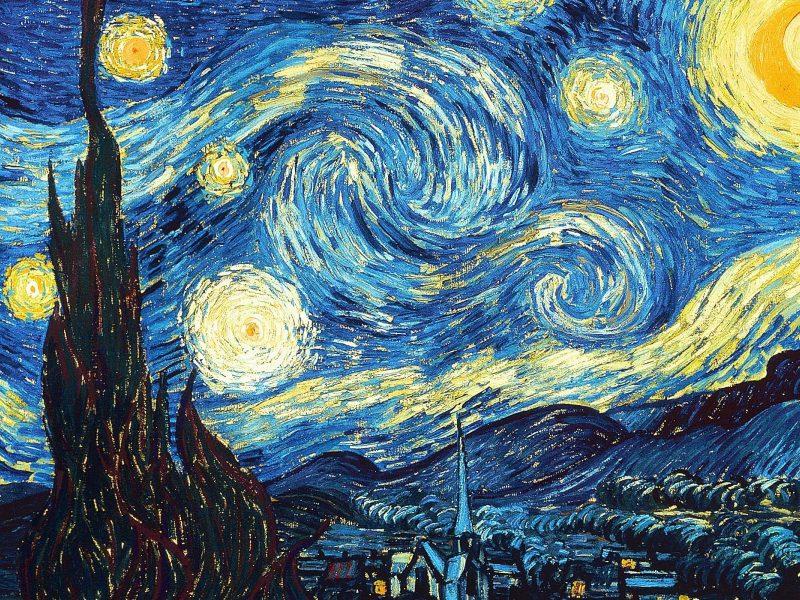 Starry Night Wallpaper Hd