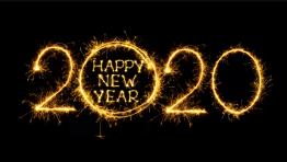 2020 Happy New Year Wallpaper Hd