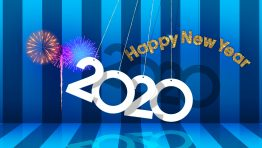 Happy New Year 2020 Hd Wallpaper Background