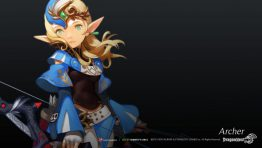 Dragon Nest Archer Blue Wallpaper Hd