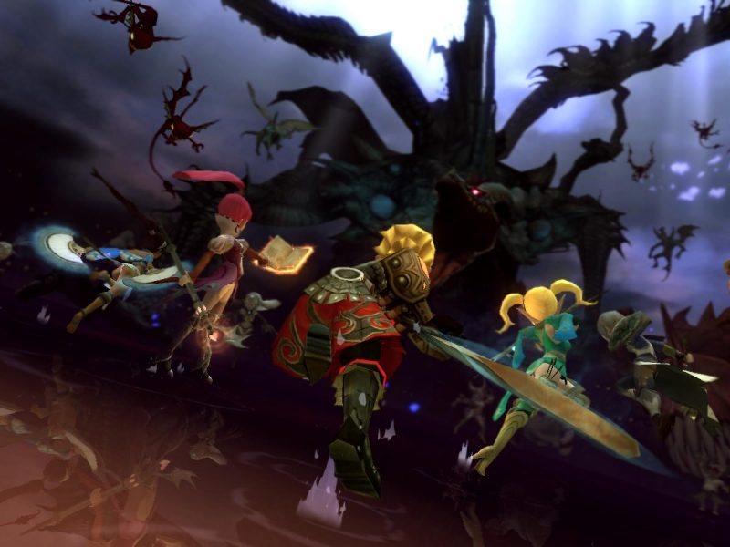 Dragon Nest Scene Wallpaper Hd