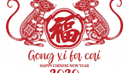 Gong Xi Fa Cai Happy New Year 2020 Year Of The Rat