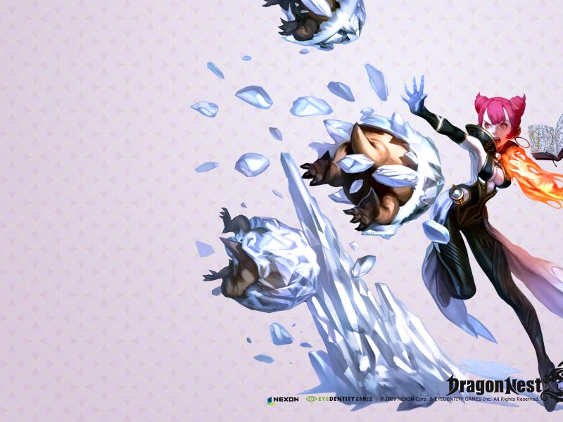 Mage Wallpaper Dragon Nest Hd