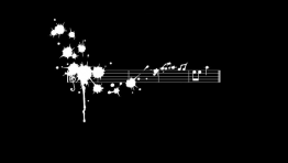 Music Note Black Wallpaper Hd