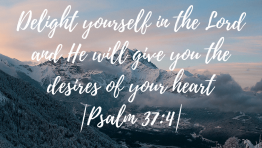 Psalm 37 4 Bible Verse Wallpaper Hd