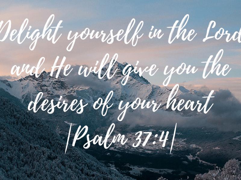 Psalm 37 4 Bible Verse Wallpaper Hd