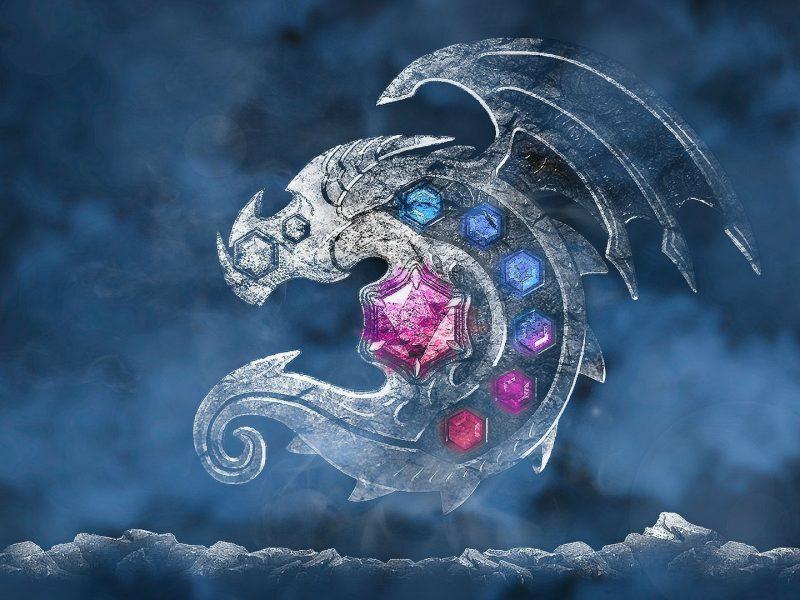 Wallpaper Dragon Nest Logo Dragon Hd
