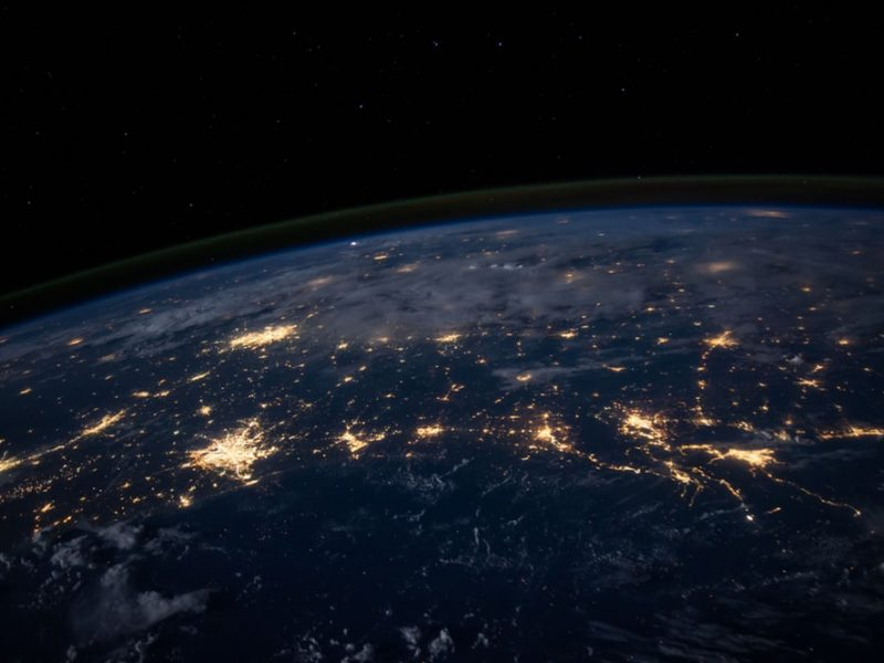 Earth At Night Wallpaper Hd