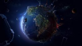 Hi Tech Planet Wide Wallpaper Hd Earth