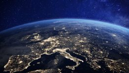 Lights Planet Earth Europe Wallpaper Hd