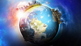 Planet Earth Big City Wallpaper Hd