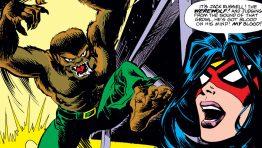 Werewolf Comics Wallpaper Hd