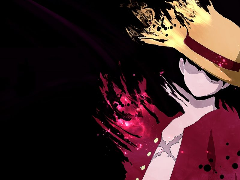 Luffy Minimalist One Piece Wallpaper Hd