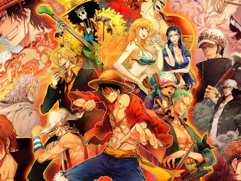 One Piece Hero Characters Wallpaper Hd