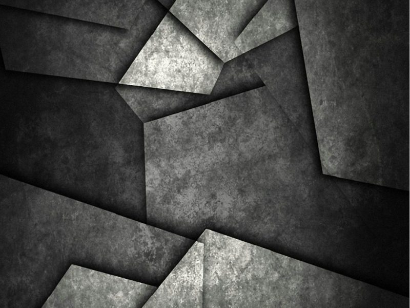 Black Metal Abstract Wallpaper Hd