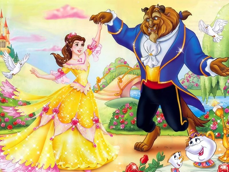 Beauty And The Beast Belle Movie Wallpaper Hd
