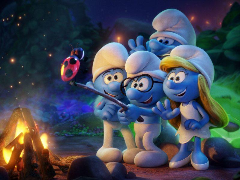 Smurf Movie Wallpaper Hd