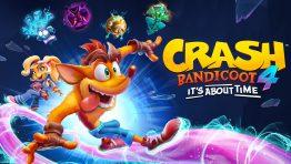 Crash Bandicoot Its About Time Wallpaper Hd