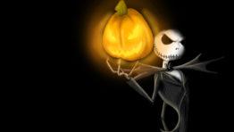 Jack Holding A Pumpkin Wallpaper