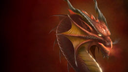 Stunning Red Dragon Wallpaper