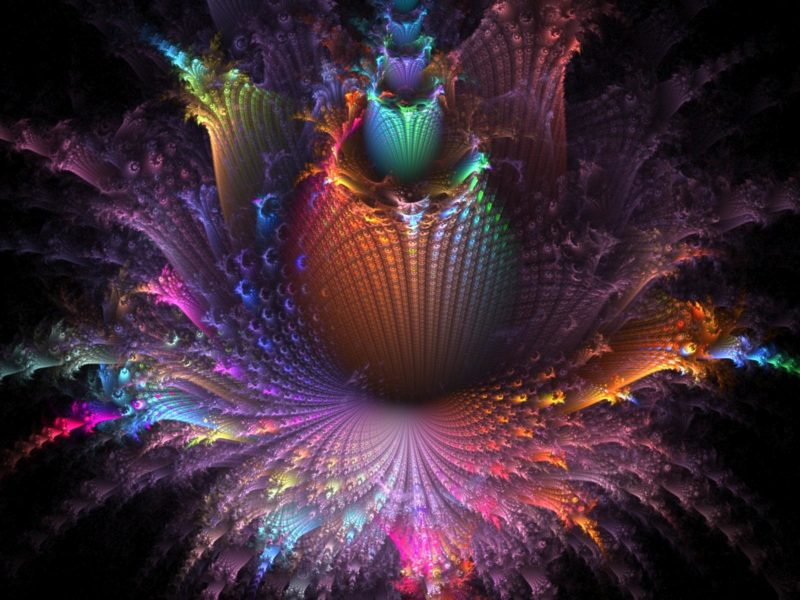 Abstract Fractal Wallpaper